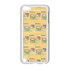 Hand Drawn Ethinc Pattern Background Apple Ipod Touch 5 Case (white)
