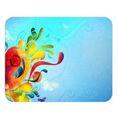 Patterns Multicolored Colorful 11348 3840x2400 Double Sided Flano Blanket (large)