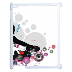 Dj Record Music Lovers 23605 3840x2400 Apple Ipad 2 Case (white)