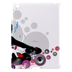 Dj Record Music Lovers 23605 3840x2400 Apple Ipad 3/4 Hardshell Case (compatible With Smart Cover)