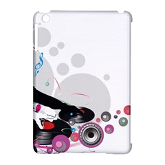 Dj Record Music Lovers 23605 3840x2400 Apple Ipad Mini Hardshell Case (compatible With Smart Cover)