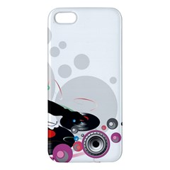 Dj Record Music Lovers 23605 3840x2400 Apple Iphone 5 Premium Hardshell Case