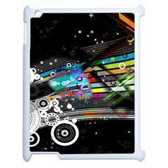 Patterns Circles Lines Stripes Colorful Rainbow 20251 3840x2400 Apple Ipad 2 Case (white)