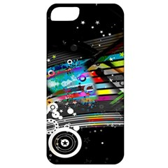 Patterns Circles Lines Stripes Colorful Rainbow 20251 3840x2400 Apple Iphone 5 Classic Hardshell Case