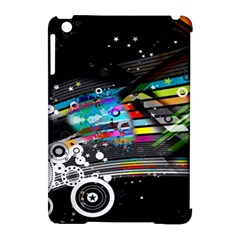 Patterns Circles Lines Stripes Colorful Rainbow 20251 3840x2400 Apple Ipad Mini Hardshell Case (compatible With Smart Cover)