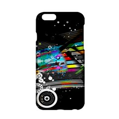 Patterns Circles Lines Stripes Colorful Rainbow 20251 3840x2400 Apple Iphone 6/6s Hardshell Case