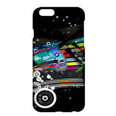Patterns Circles Lines Stripes Colorful Rainbow 20251 3840x2400 Apple Iphone 6 Plus/6s Plus Hardshell Case