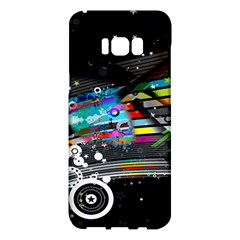 Patterns Circles Lines Stripes Colorful Rainbow 20251 3840x2400 Samsung Galaxy S8 Plus Hardshell Case