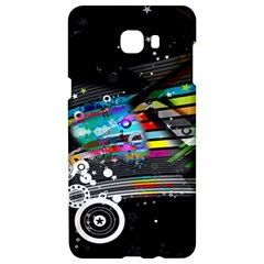 Patterns Circles Lines Stripes Colorful Rainbow 20251 3840x2400 Samsung C9 Pro Hardshell Case