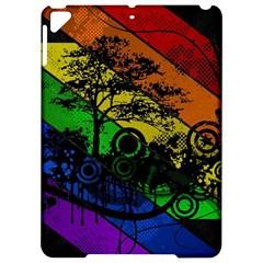 Trees Stripes Lines Rainbow  Apple Ipad Pro 9 7   Hardshell Case