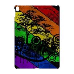 Trees Stripes Lines Rainbow  Apple Ipad Pro 10 5   Hardshell Case