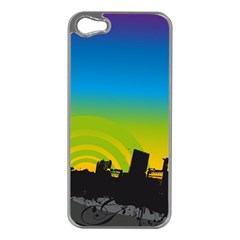 Youth Style Drive Vector 11397 3840x2400 Apple Iphone 5 Case (silver)