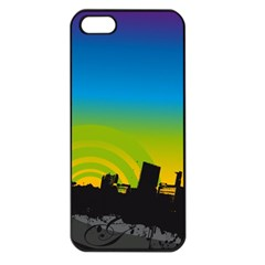 Youth Style Drive Vector 11397 3840x2400 Apple Iphone 5 Seamless Case (black)