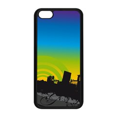 Youth Style Drive Vector 11397 3840x2400 Apple Iphone 5c Seamless Case (black)