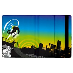 Youth Style Drive Vector 11397 3840x2400 Apple Ipad Pro 9 7   Flip Case