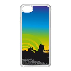 Youth Style Drive Vector 11397 3840x2400 Apple Iphone 7 Seamless Case (white)