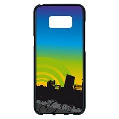 Youth Style Drive Vector 11397 3840x2400 Samsung Galaxy S8 Plus Black Seamless Case