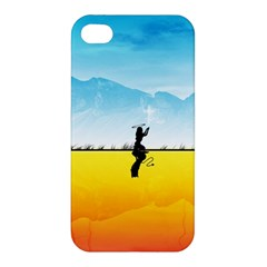 Worlds Angels Demons Contradictions  Apple Iphone 4/4s Hardshell Case