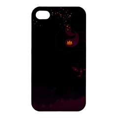 Wolf Night Alone Dark 11349 3840x2400 Apple Iphone 4/4s Premium Hardshell Case