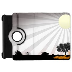 Shooting Tank Person Tree Sun  Kindle Fire Hd 7