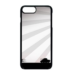 Shooting Tank Person Tree Sun  Apple Iphone 7 Plus Seamless Case (black)