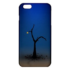 Tree Lonely Blue Orange Dark  Iphone 6 Plus/6s Plus Tpu Case