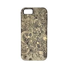 Patterns Dog Line Shape  Apple Iphone 5 Classic Hardshell Case (pc+silicone)