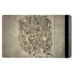 Patterns Dog Line Shape  Apple Ipad Pro 9 7   Flip Case