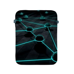 3d Balls Rendering Lines  Apple Ipad 2/3/4 Protective Soft Cases