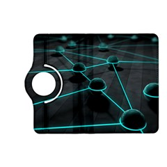 3d Balls Rendering Lines  Kindle Fire Hd (2013) Flip 360 Case