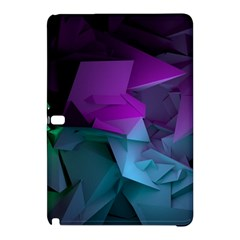 Abstract Shapes Purple Green  Samsung Galaxy Tab Pro 12 2 Hardshell Case