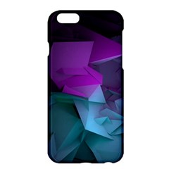 Abstract Shapes Purple Green  Apple Iphone 6 Plus/6s Plus Hardshell Case