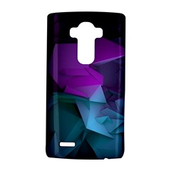 Abstract Shapes Purple Green  Lg G4 Hardshell Case