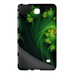 Abstraction Embrace Fractal Flowers Gray Green Plant  Samsung Galaxy Tab 4 (7 ) Hardshell Case
