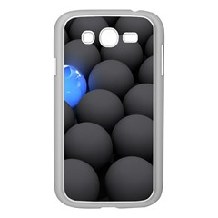 Balls Dark Neon Light Surface  Samsung Galaxy Grand Duos I9082 Case (white)