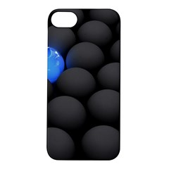 Balls Dark Neon Light Surface  Apple Iphone 5s/ Se Hardshell Case