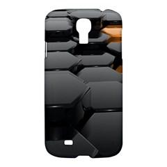 Orange Black Samsung Galaxy S4 I9500/i9505 Hardshell Case