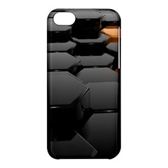 Orange Black Apple Iphone 5c Hardshell Case
