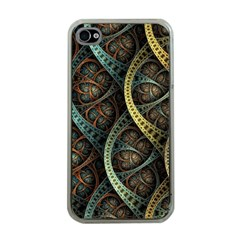 Line Semi Circle Background Patterns 82323 3840x2400 Apple Iphone 4 Case (clear)