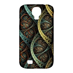 Line Semi Circle Background Patterns 82323 3840x2400 Samsung Galaxy S4 Classic Hardshell Case (pc+silicone)