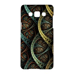 Line Semi Circle Background Patterns 82323 3840x2400 Samsung Galaxy A5 Hardshell Case