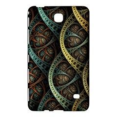 Line Semi Circle Background Patterns 82323 3840x2400 Samsung Galaxy Tab 4 (7 ) Hardshell Case