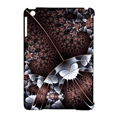 Lines Background Light Dark 81522 3840x2400 Apple Ipad Mini Hardshell Case (compatible With Smart Cover)