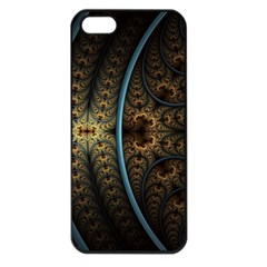 Lines Dark Patterns Background Spots 82314 3840x2400 Apple Iphone 5 Seamless Case (black)