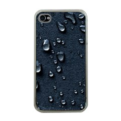 Surface Texture Drops Moisture 18094 3840x2400 Apple Iphone 4 Case (clear)
