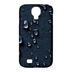 Surface Texture Drops Moisture 18094 3840x2400 Samsung Galaxy S4 Classic Hardshell Case (pc+silicone)