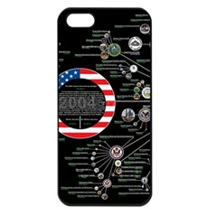 67732982 Political Wallpapers Apple Iphone 5 Seamless Case (black)