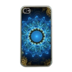 Patterns Lines Background Circles 56933 3840x2400 Apple Iphone 4 Case (clear)