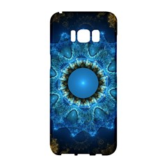 Patterns Lines Background Circles 56933 3840x2400 Samsung Galaxy S8 Hardshell Case