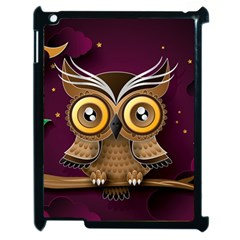 Owl Bird Art Branch 97204 3840x2400 Apple Ipad 2 Case (black)
